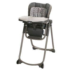 Chaise haute Graco slim spaces neuve