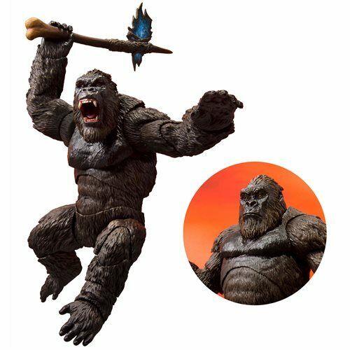 S. H. Monsterarts NEW * King Kong * 2021 Godzilla vs Kong Action Figure Bandai