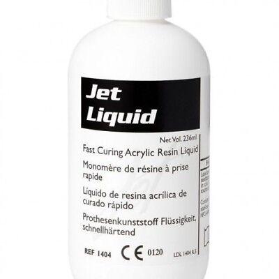 Dental Acrylic Tooth Jet Denture Repair Liquid 118 Ml 4 Oz. Lang
