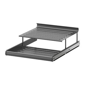 KOMPLEMENT Pull-out shoe shelf, dark gray- NEW-50cm