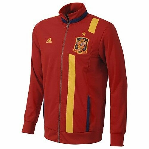 Adidas Spain Red & Yellow Anthem Jacket (Size L) (Brand New With Tags)