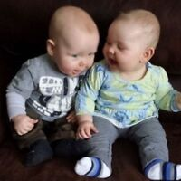 Part-time nanny needed for 9 month old twins