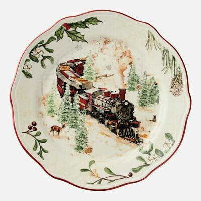 Set of 2 - NEW Better Homes & Gardens 2019 Heritage Salad Plate - Train