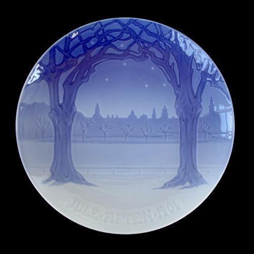 Royal Copenhagen Christmas Plate | eBay