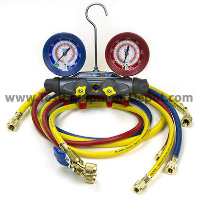 Yellow Jacket 46013 Brute Ii Test Charge Manifold Fc Rb Gauge