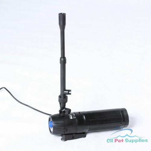 Fish pond pump filter ebay for Koi pond filter pump