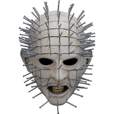 Adult Hellraiser III Pinhead Halloween Mask Authentic - Pinhead Halloween Mask