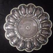 Vintage Glass Relish Tray
