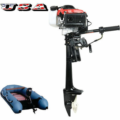 New 4 HP Outboard Motor 4 Stroke 38CC Outboard Engine With Air Cooling System