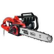 Black Decker Electric Chainsaw
