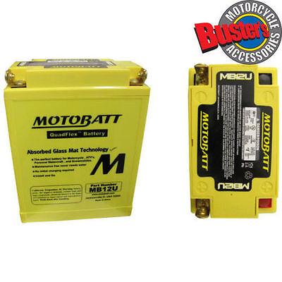 MOTOBATT QUADFLEX MB12U BATTERY FOR A <em>YAMAHA</em> XV 535 VIRAGO 1988 2003