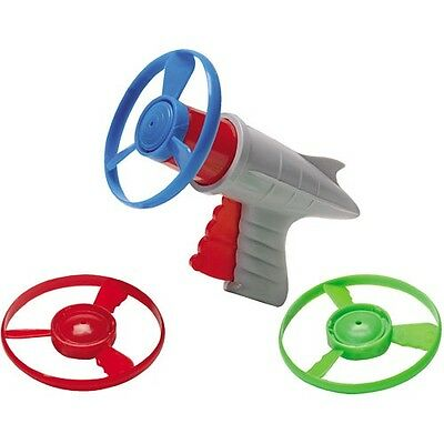 Retro Space Gun (LUNAR LAUNCHER Space Pistol Retro toy propeller prop helicopter disc Ray)