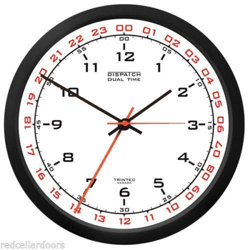 24 Hour Military Clock Ebay