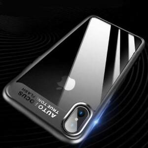 Iphone X Hybrid Transparent Case (shock proof)
