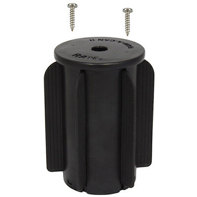 RAM Mount Plastic RAM-A-CAN II Vehicle Cup Flat Surface Mount Base