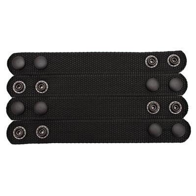 New Bianchi Patroltek 8006 Black Belt Keeper 2 Snap 4-pack 31304