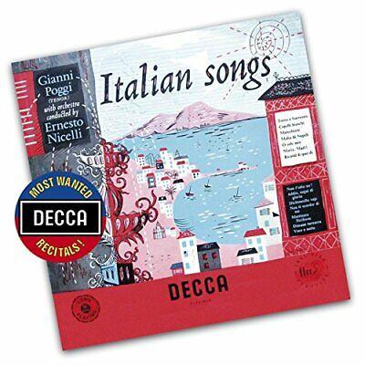 Ernest Nicelli - Gianni Poggi - Italian Songs (Decca... - Ernest Nicelli CD 2OVG