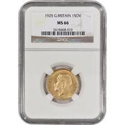 1925 Gold Sovereign