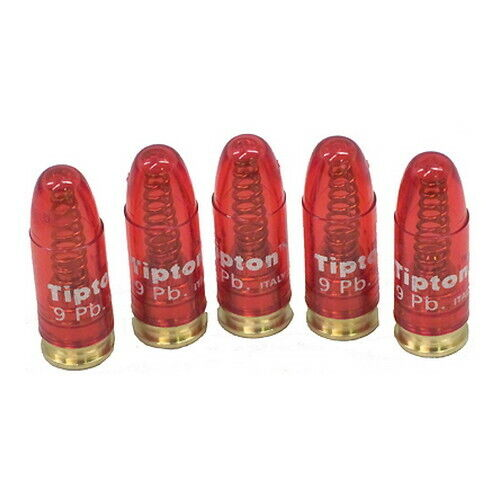 Tipton Snap Caps 9mm Luger-Precision Metal Base Snap Cap-Pack of 5-303958