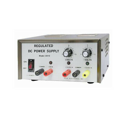 Dc Power Supply Triple Output One Fixed Two Variable Assembled Version