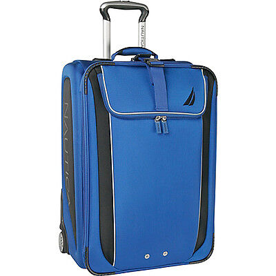 "Nautica Fleet 21"" Wheeled Carry On - Alpine blue/black on Rummage"