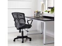 NEW Black Adjustable Ergonomic Executive Office Computer Chair