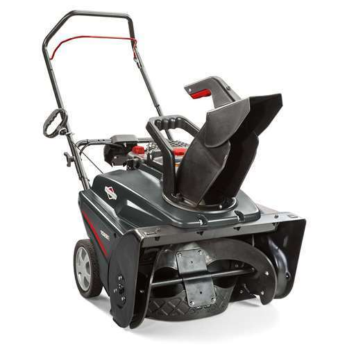 """Briggs & Stratton 22"""" 208cc Single Stage Electric Start Gas Snow Thrower (Used)"""