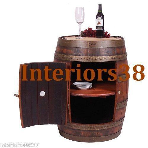 Wine Barrel Bar Ebay
