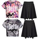 Cotton Skirts for Girls' Skater Skirts