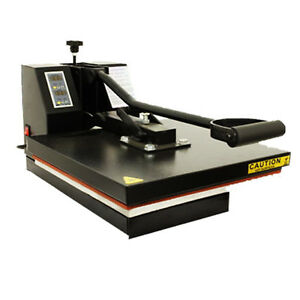 PROFESSIONAL CLAM T-SHIRT HEAT PRESS 38X38CM SPECIAL OFFER PRICE FOR 2 MONTHS!