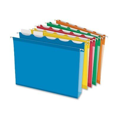 Esselte Colored Box Bottom Hanging File Folder - 2 Expansion - Ring Fastener -