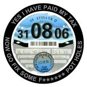 St Tax Disc Holder