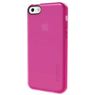 Incipio Feather Clear Transparent Ultra light Snap-On Case for iPhone 5c - Pink Incipio Ultralight Feather