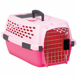 Small Petmate Pink Pet Carrier