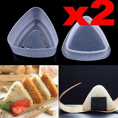 JP Triangle Form Onigiri Sushi Rice Ball Bento Press DIY Maker Mold Mould Bento Sushi