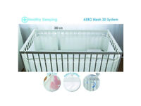 Bump Air Baby Protection Cot Bumper Bed Surround Aero Mesh 3D ThermoActive 360cm