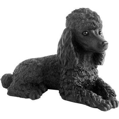 (♛ SANDICAST Dog Figurine Sculpture Poodle Black)