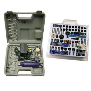 276pc-DREMEL-STYLE-HOBBY-ROTARY-MINI-TOOL-DRILL-CASE