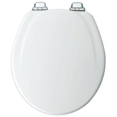 Mayfair Molded Wood Toilet Seat featuring Slow-Close, STA-TI