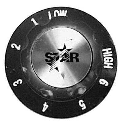 Star Mfg Oem 2r-y6353 Y6353 2 Hot Dog Steamer Knob Low 1-6 High