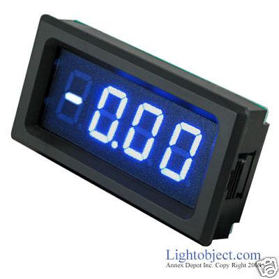 Up8135 Blue Led Dc 20v Digital Volt Meter Power 6-15v