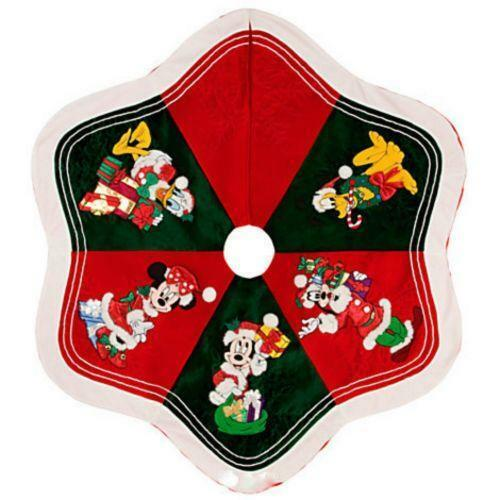 Mickey Christmas Tree Topper: Mickey Mouse Tree Skirt