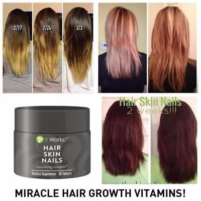 It Works  Hair Skin And Nails Sealed New In Box