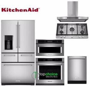 Built-In KitchenAid Appliances Set - Regular Price $ 15,899 for only $ 12,093.70 - New Appliances