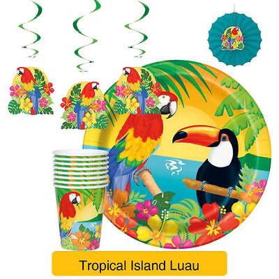 Tropische Insel Luau Party Reihe (Insel Dekorationen)