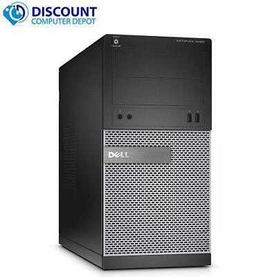 Dell Optiplex Tower Windows 10 Pro Desktop Computer PC Quad i5 3.4GHz 4GB 500GB