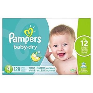 a67122dde69ab Pampers Baby Dry Size 4 Diapers - 128 Count for sale online