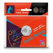 Olympic 50p Table Tennis