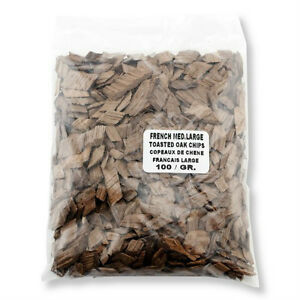 French Med. Toast Large Oak Chips 100 grams