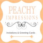 Peachy Impressions Stationery